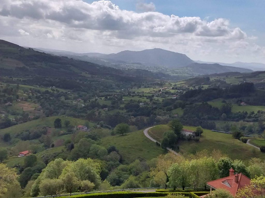 vistas desde la casa del acebal